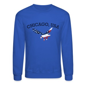 Chicago USA Eagle - Crewneck Sweatshirt