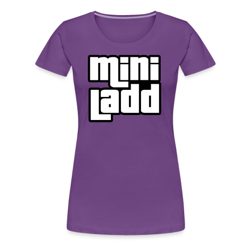 Mini Ladd GTA Logo Womans - Women's Premium T-Shirt
