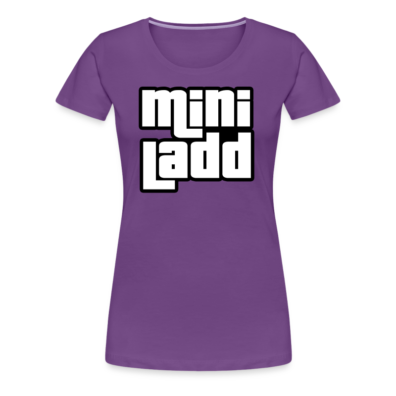 Mini Ladd GTA Logo Womans - Women's Premium T-Shirt