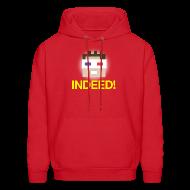Hoodies ~ Men's Hoodie ~ Indeed! Kurtjmac Men's Hoodie