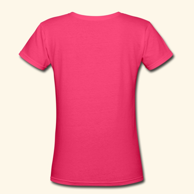 Coco Puff Logo - Women's V-Neck T-Shirt