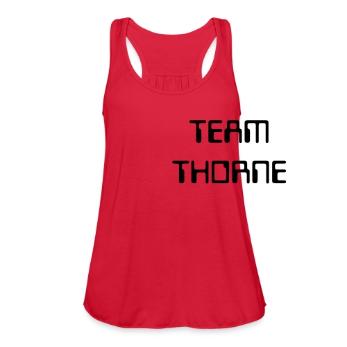 Team Thorne Flow Tank - Women's Flowy Tank Top by Bella