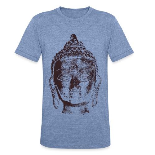 Buddha Head - Unisex Tri-Blend T-Shirt