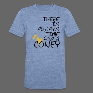 Always Time For A Coney - Unisex Tri-Blend T-Shirt