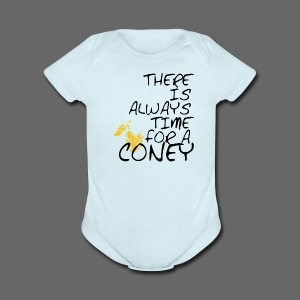 Always Time For A Coney - Short Sleeve Baby Bodysuit