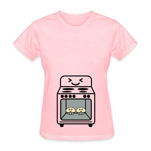 Bun in the oven Twins - Women's T-Shirt