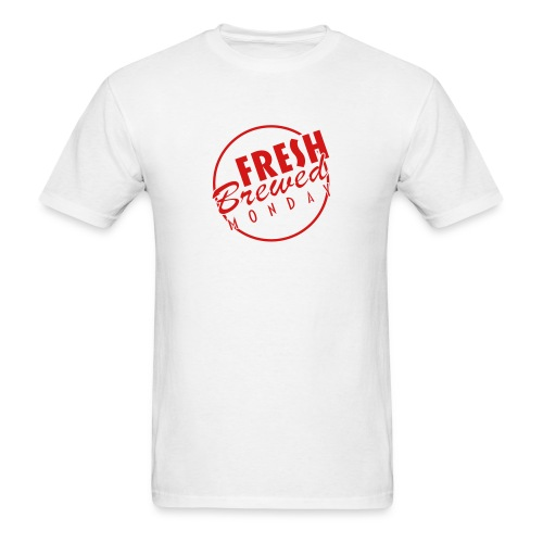 FBM White T-Shirt - Men's T-Shirt