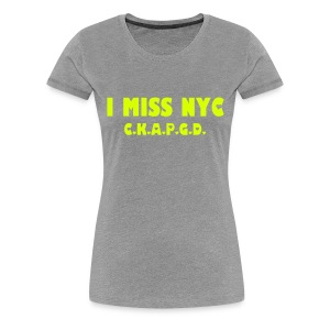 Can't Keep A Passionate Girl Down NYC-T - Women's Premium T-Shirt