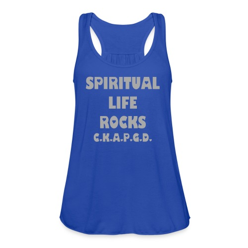 Can't Keep A Passionate Girl Down Spiritual Glitter-Tank - Women's Flowy Tank Top by Bella