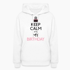 keep calm birthday Hoodies