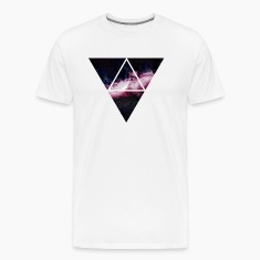 triangle galaxy T-Shirts