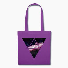 triangle galaxy Bags & backpacks