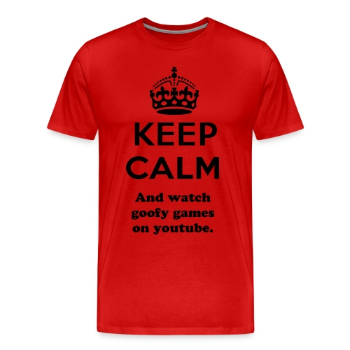keep calm T shirt - Men's Premium T-Shirt