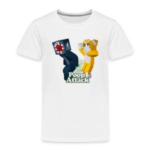 Poop Attack - Toddler Premium - Toddler Premium T-Shirt
