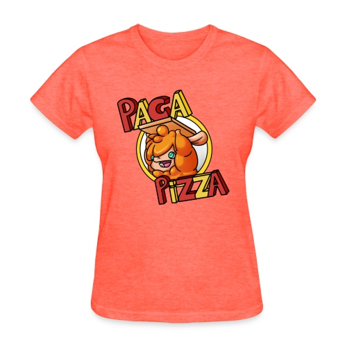 Paca Pizza Logo Ladies Tee - Women's T-Shirt