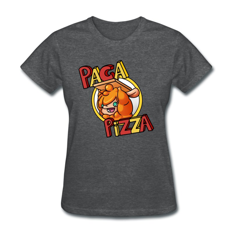 Paca Pizza Logo Ladies Tee - Women's T-Shirt