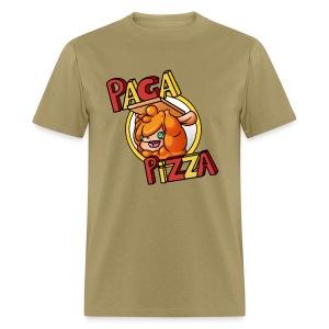 Paca Pizza Logo Men's Tee - Men's T-Shirt