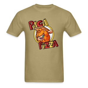 Paca Pizza Logo Men's Tee - Men's T-Shirt