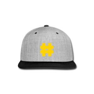 Hashtag cap - Snap-back Baseball Cap
