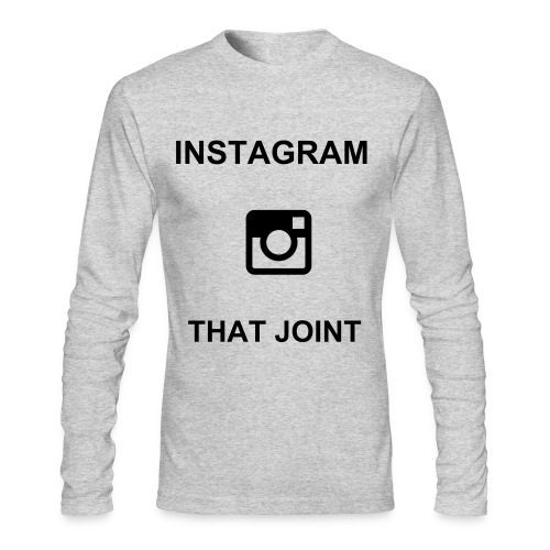 Instagram that joint long sleves - Men's Long Sleeve T-Shirt by Next Level