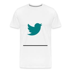 Your twitter - Men's Premium T-Shirt