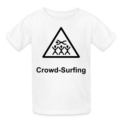 Kids Crowd Surfing - Kids' T-Shirt
