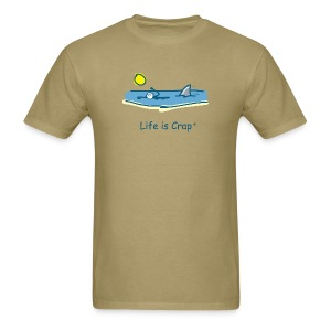 Swimming with Sharks - Mens Classic T-shirt - Men's T-Shirt