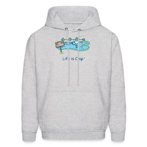 Posted No Fishing - Mens Hooded Sweatshirt - Men's Hoodie