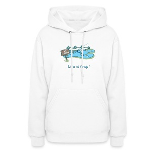Posted No Fishing - Women's Hooded Sweatshirt - Women's Hoodie