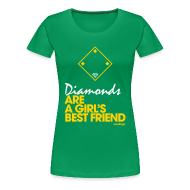 Women's T-Shirts ~ Women's Premium T-Shirt ~ Diamonds II - Women's Tee