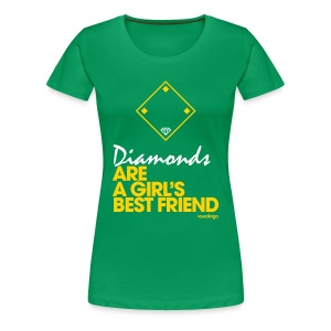 Diamonds II - Women's Tee - Women's Premium T-Shirt