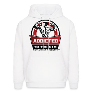 Addicted To The Gym - Men's Hoodie