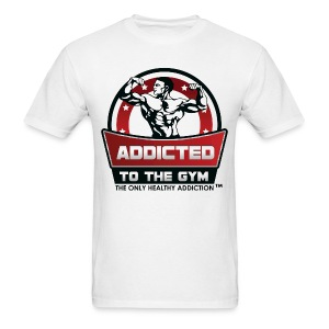 Addicted To The Gym - Men's T-Shirt