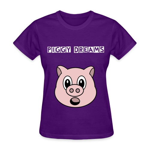 piggy dreams shirt - Women's T-Shirt