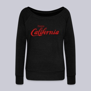Enjoy California - Women's Wideneck Sweatshirt