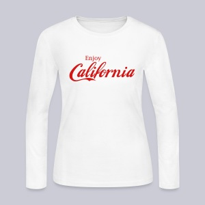 Enjoy California - Women's Long Sleeve Jersey T-Shirt