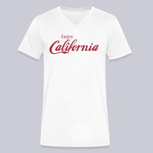 Enjoy California - Men's V-Neck T-Shirt by Canvas
