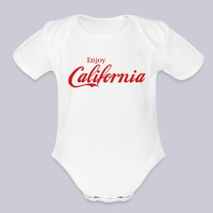 Enjoy California - Short Sleeve Baby Bodysuit