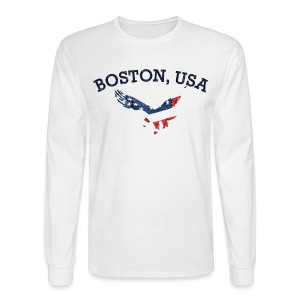 Boston USA Eagle - Men's Long Sleeve T-Shirt