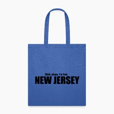 Bitch please I'm from New Jersey Parody apparel Bags & backpacks