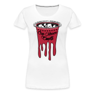 Women's T-Shirts ~ Women's Premium T-Shirt ~ Cup Never Empty