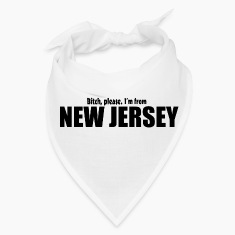 Bitch please I'm from New Jersey Parody apparel Caps