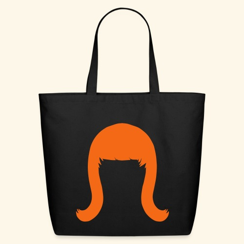 Miss Coco Peru Wig Logo - Eco-Friendly Cotton Tote - Eco-Friendly Cotton Tote
