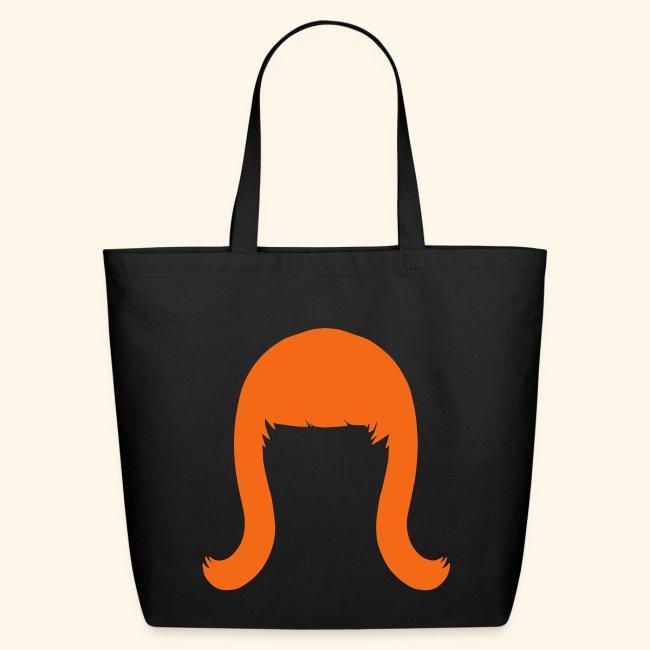 Miss Coco Peru Wig Logo - Eco-Friendly Cotton Tote