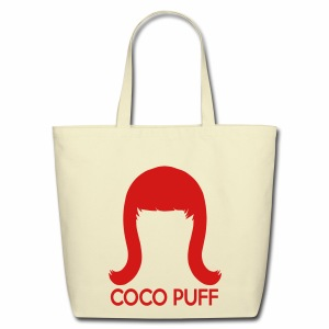 Coco Puff Logo Eco-Friendly Cotton Tote - Eco-Friendly Cotton Tote