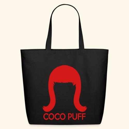 Coco Puff Logo Eco-Friendly Cotton Tote - Eco-Friendly Cotton Tote