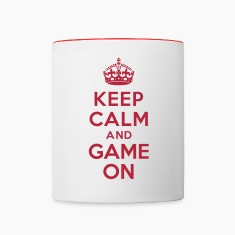 Keep calm and game on Bottles & Mugs