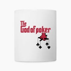 THE GOD OF POKER Bottles & Mugs