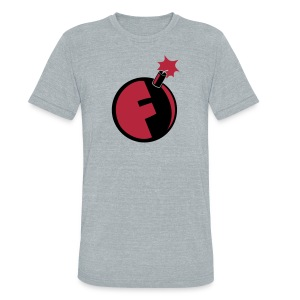 F*Bomb - Unisex Tri-Blend T-Shirt by American Apparel