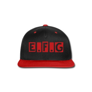 Earth Federation snap Back - Snap-back Baseball Cap